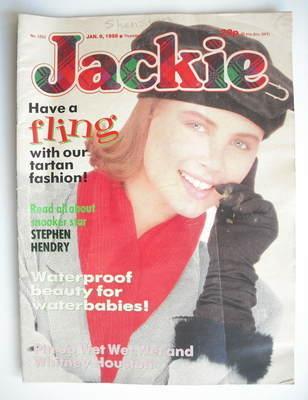 <!--1988-01-09-->Jackie magazine - 9 January 1988 (Issue 1253)