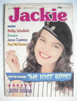 Jackie magazine - 16 April 1988 (Issue 1267)