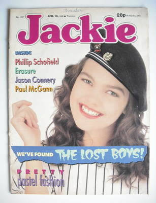 <!--1988-04-16-->Jackie magazine - 16 April 1988 (Issue 1267)