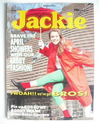 <!--1988-04-09-->Jackie magazine - 9 April 1988 (Issue 1266)