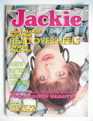<!--1988-04-02-->Jackie magazine - 2 April 1988 (Issue 1265)