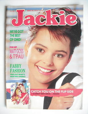 <!--1988-03-19-->Jackie magazine - 19 March 1988 (Issue 1263)