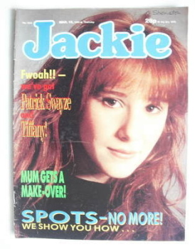 Jackie magazine - 12 March 1988 (Issue 1262 - Tiffany cover)