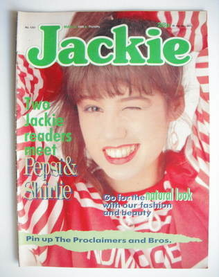 <!--1988-03-05-->Jackie magazine - 5 March 1988 (Issue 1261)