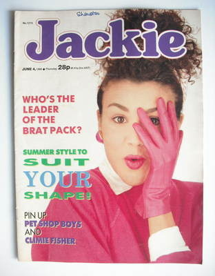 <!--1988-06-04-->Jackie magazine - 4 June 1988 (Issue 1274)
