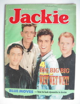 Jackie magazine - 28 May 1988 (Issue 1273 - Wet Wet Wet cover)