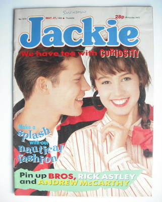 <!--1988-05-21-->Jackie magazine - 21 May 1988 (Issue 1272)