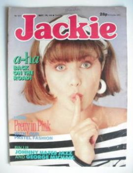 Jackie magazine - 14 May 1988 (Issue 1271 - Sadie Frost cover)