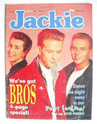 <!--1988-04-30-->Jackie magazine - 30 April 1988 (Issue 1269)