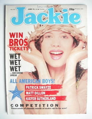 <!--1988-06-18-->Jackie magazine - 18 June 1988 (Issue 1276)