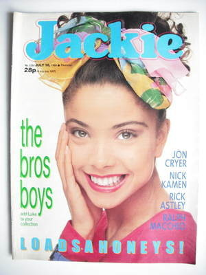<!--1988-07-16-->Jackie magazine - 16 July 1988 (Issue 1280)
