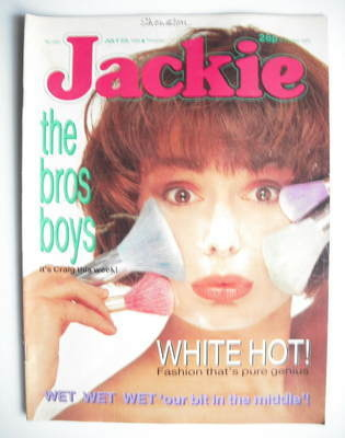 <!--1988-07-23-->Jackie magazine - 23 July 1988 (Issue 1281)