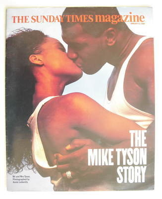 <!--1989-01-08-->The Sunday Times magazine - Mike Tyson and Robin Givens co