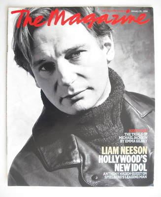 <!--1994-01-30-->The Sunday Times magazine - Liam Neeson cover (30 January