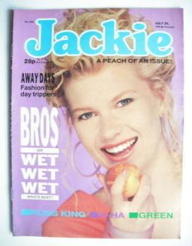 Jackie magazine - 30 July 1988 (Issue 1282)