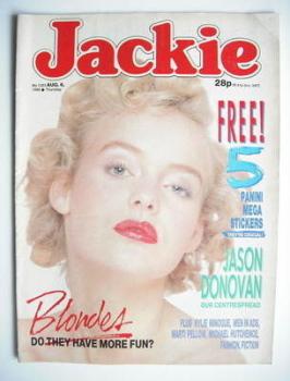 Jackie magazine - 6 August 1988 (Issue 1283)