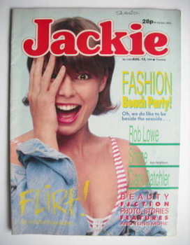 Jackie magazine - 13 August 1988 (Issue 1284)