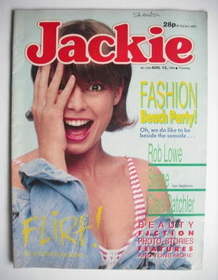 <!--1988-08-13-->Jackie magazine - 13 August 1988 (Issue 1284)