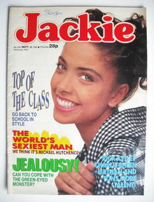 <!--1988-09-03-->Jackie magazine - 3 September 1988 (Issue 1287)