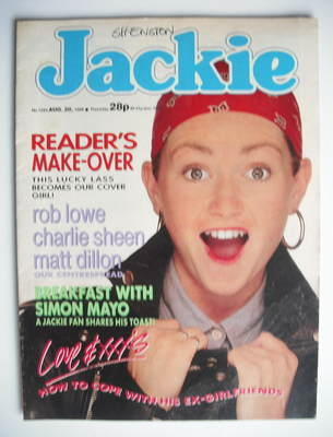 <!--1988-08-20-->Jackie magazine - 20 August 1988 (Issue 1285)