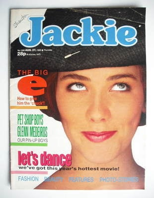 <!--1988-08-27-->Jackie magazine - 27 August 1988 (Issue 1286)
