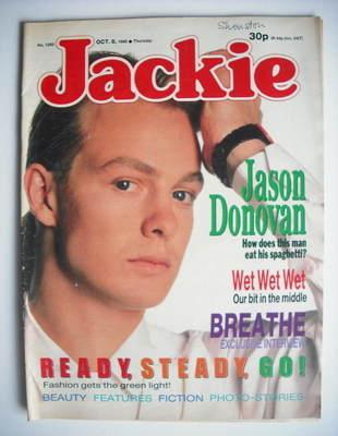 <!--1988-10-08-->Jackie magazine - 8 October 1988 (Issue 1292 - Jason Donov
