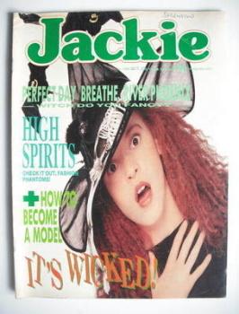 Jackie magazine - 29 October 1988 (Issue 1295)