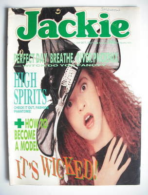 <!--1988-10-29-->Jackie magazine - 29 October 1988 (Issue 1295)