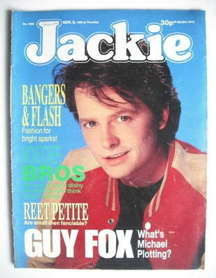 <!--1988-11-05-->Jackie magazine - 5 November 1988 (Issue 1296 - Michael J