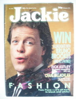 <!--1988-12-10-->Jackie magazine - 10 December 1988 (Issue 1301 - Bruno Brookes cover)