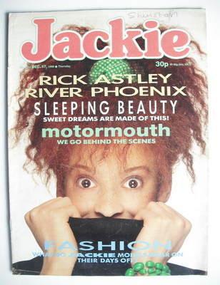 <!--1988-12-17-->Jackie magazine - 17 December 1988 (Issue 1302)