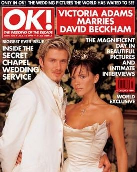 old celebrity magazines
