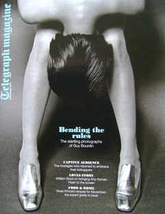 <!--2010-11-06-->Telegraph magazine - Bending The Rules cover (6 November 2
