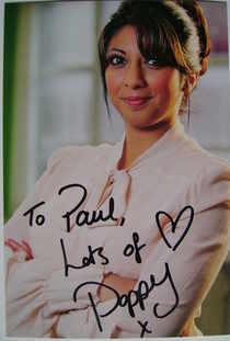 Poppy Jhakra autograph