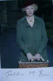 Geraldine McEwan autograph (hand-signed photograph)