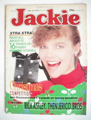 <!--1987-12-26-->Jackie magazine - 26 December 1987 (Issue 1251)