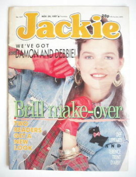 Jackie magazine - 28 November 1987 (Issue 1247)