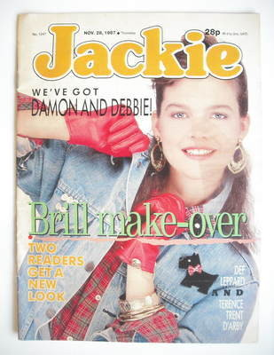 <!--1987-11-28-->Jackie magazine - 28 November 1987 (Issue 1247)