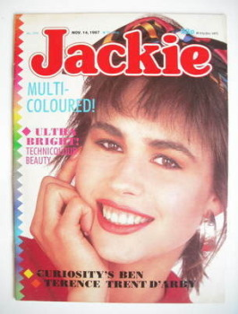 Jackie magazine - 14 November 1987 (Issue 1245)
