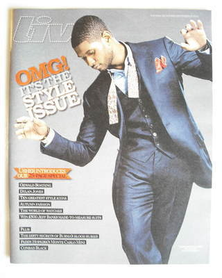 <!--2010-09-19-->Live magazine - Usher cover (19 September 2010)