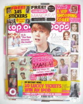 Top Of The Pops magazine - Justin Bieber cover (15 September - 12 October 2010)