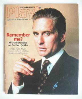 The Times Playlist magazine - 25 September 2010 - Michael Douglas cover