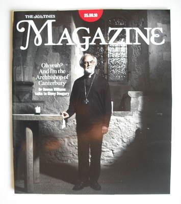 <!--2010-09-25-->The Times magazine - The Archbishop of Canterbury (25 Sept