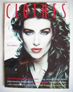 Clothes Show magazine - Spring 1988 - Selina Scott cover