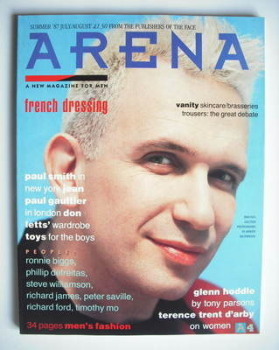 Arena magazine - Summer 1987 - Jean-Paul Gaultier cover