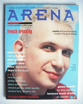 <!--1987-08-->Arena magazine - Summer 1987 - Jean-Paul Gaultier cover
