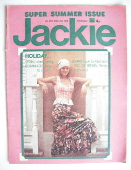 Jackie magazine - 3 August 1974 (Issue 552)