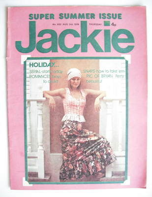 <!--1974-08-03-->Jackie magazine - 3 August 1974 (Issue 552)