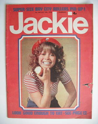 <!--1974-07-13-->Jackie magazine - 13 July 1974 (Issue 549)