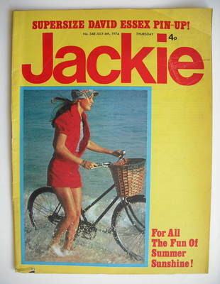 <!--1974-07-06-->Jackie magazine - 6 July 1974 (Issue 548)